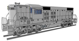 Locomotive Design Services by Certified Company